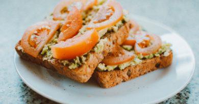 как сделать бутерброды с помидором