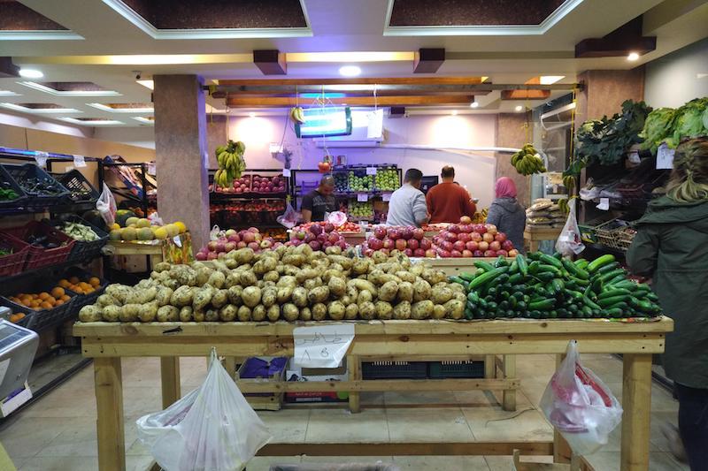 дешевые фрукты и овощи шарм-эль-шейх