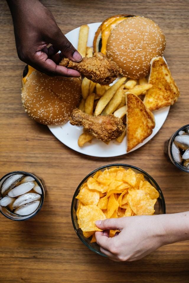 KFC меню