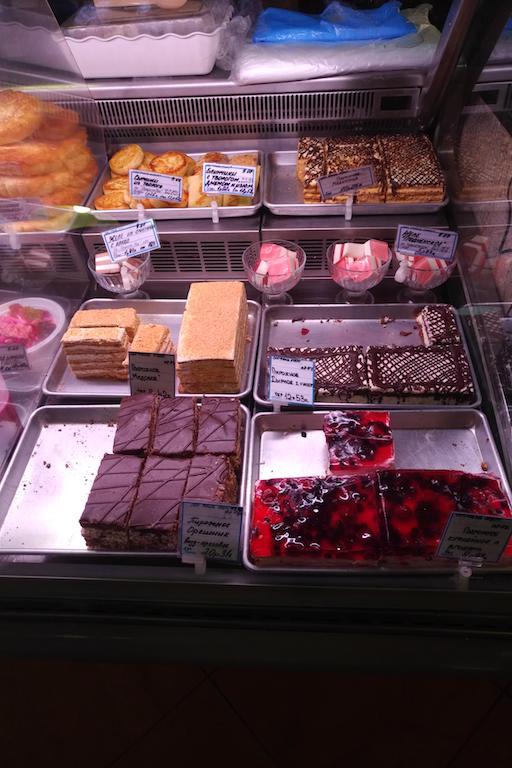 сладкий уголок десерты