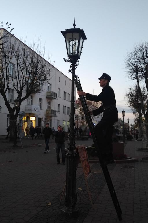 фонарщик советская