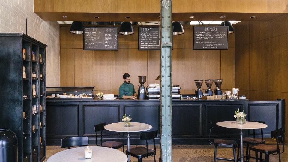 кофейня в детроите shinola