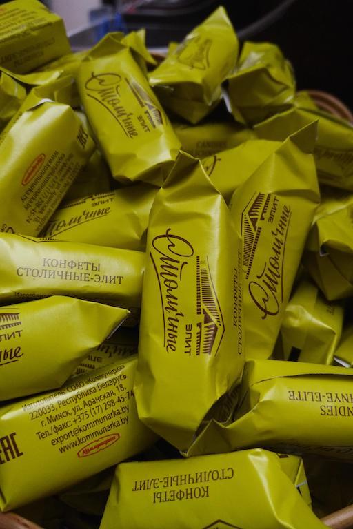 конфеты со спиртной начинкой