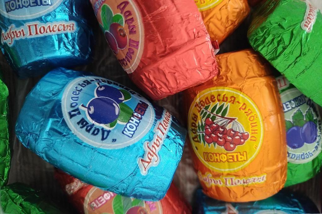 какие конфеты без пальмового масла