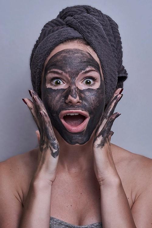 маска для лица из кофе со сметаной