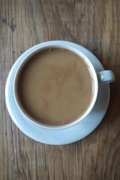 миндальное молоко с кофе