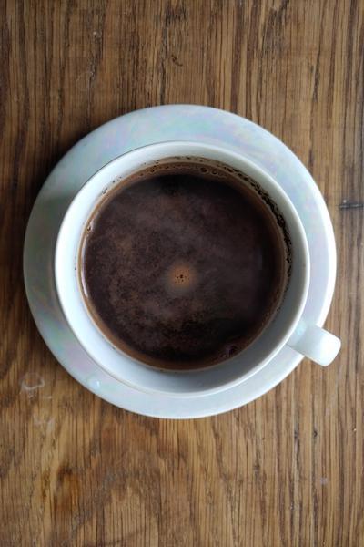 кофе с овсяным молоком