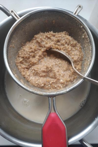 растительное молоко из пшеницы