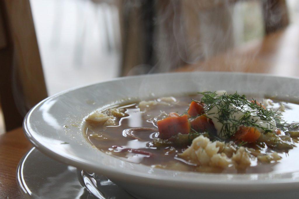 суп с огуречным рассолом